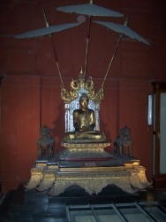 Buddha v muzeu