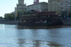 Reka Moskva & lodka
