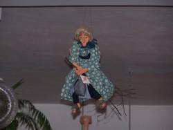 Carodejnice pod stropem
