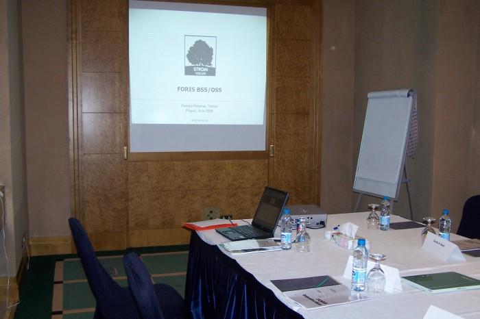 Meeting room, hotel Sheraton, Amman