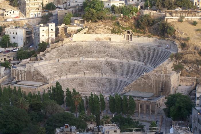Stare rimske divadlo, Amman