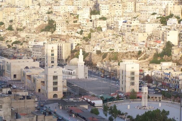 Pohled na Amman