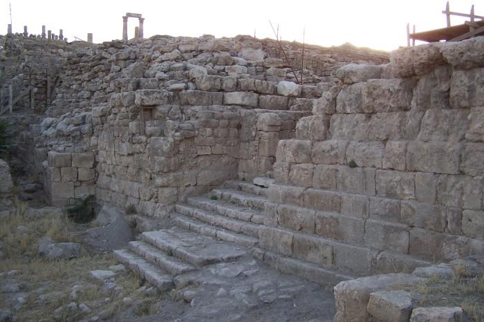 Schody k divadlu, Amman