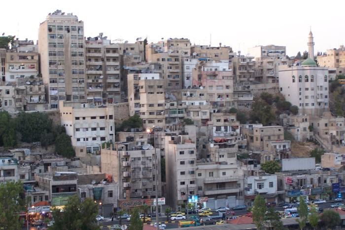 Domy ve meste, Amman