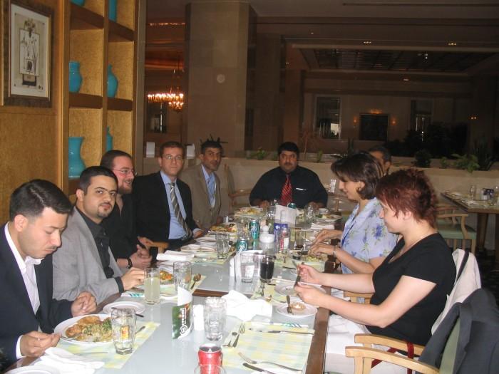 U obeda, hotel Sheraton, Amman
